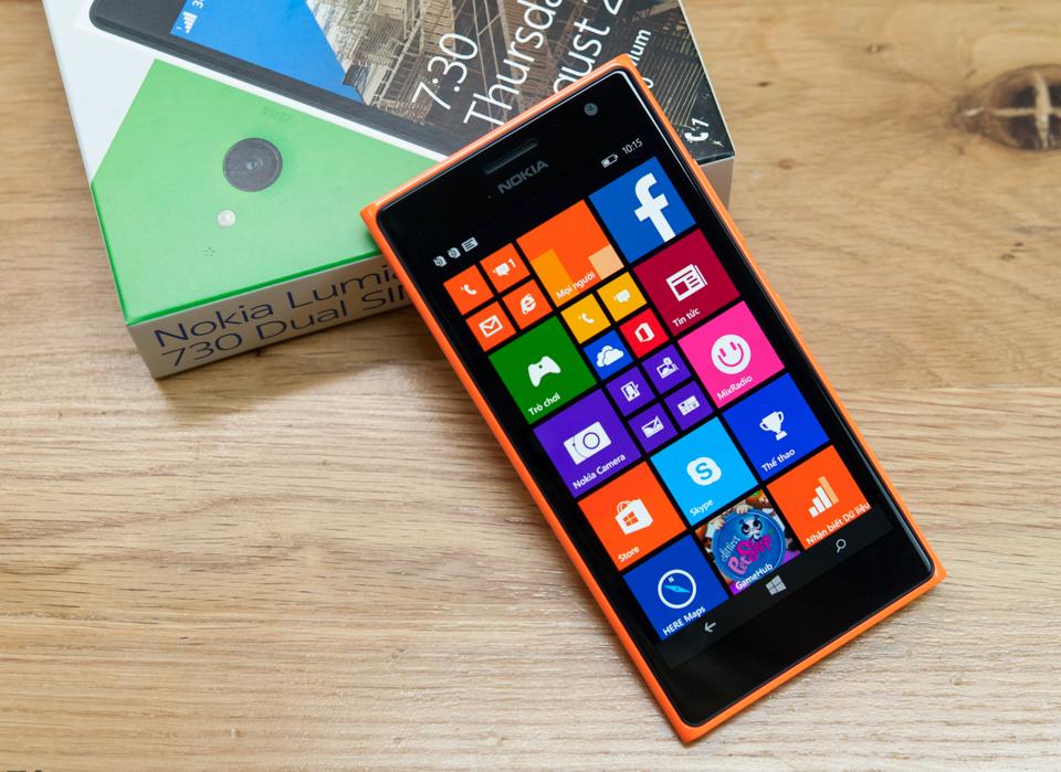 [Trên tay] Nokia Lumia 730 Dual SIM chính hãng - giá 4.989.000đ